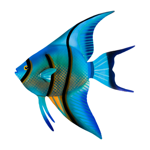 Angelfish face left (patio safe)