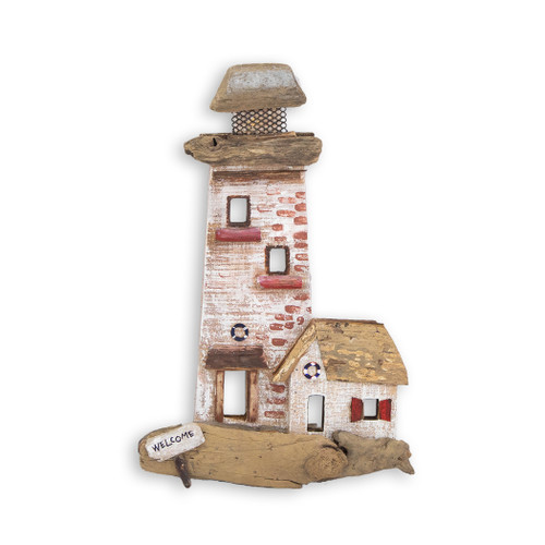 Red Lighthouse Wall Art C471