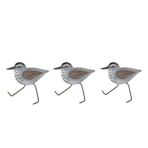 Set of 3 Sandpipers Wall Art C500X