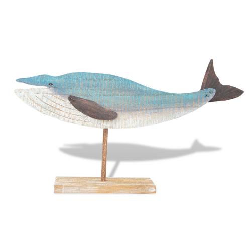 Blue Whale Table Top Beach Junk C735