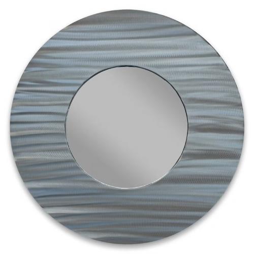 """Latitude Circle Aluminum Mirror 28"""" - MM807"""