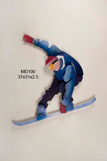 Snowboarder Wall Art