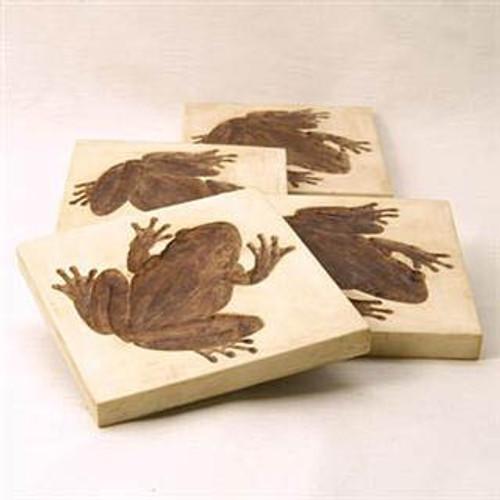 Frog Coaster Set