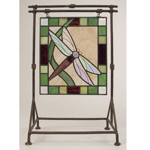 Dragonfly Stainglass Med