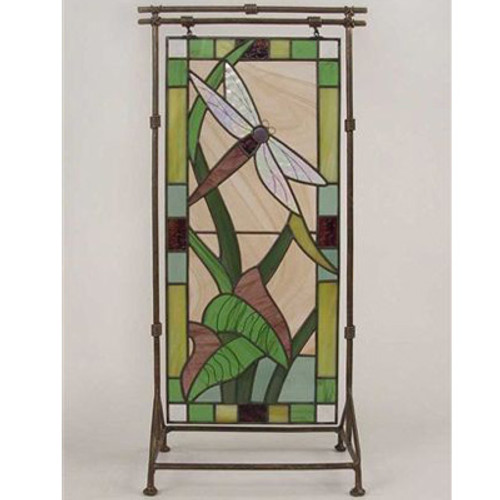 Dragonfly Stain Glass Tall