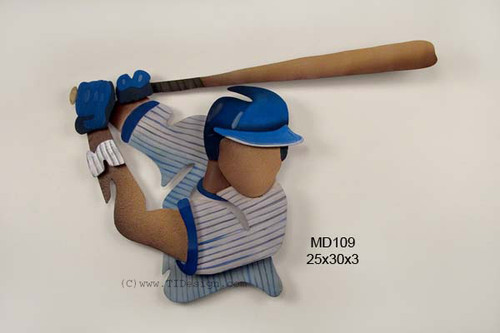 Baseball Player Kids Wall Player