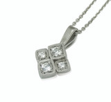 Bespoke Commission - Diamond pendant