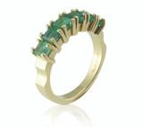 Bespoke Commission - Emerald eternity ring