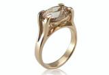 Bespoke Commission - Rose gold & Morganite Engagement Ring