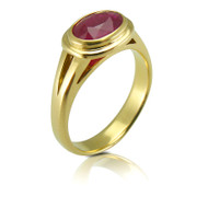 Ruby Anniversary 18ct Gold Ring