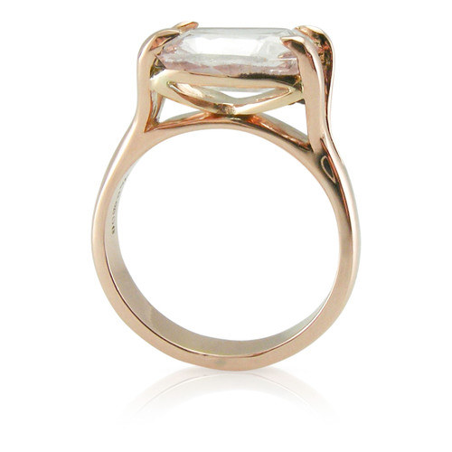 SOLD ~ Limited Edition Peach Sapphire Always Gold Ring