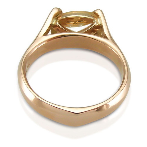 SOLD - Limited Edition Champagne Topaz Always Rose Gold Ring