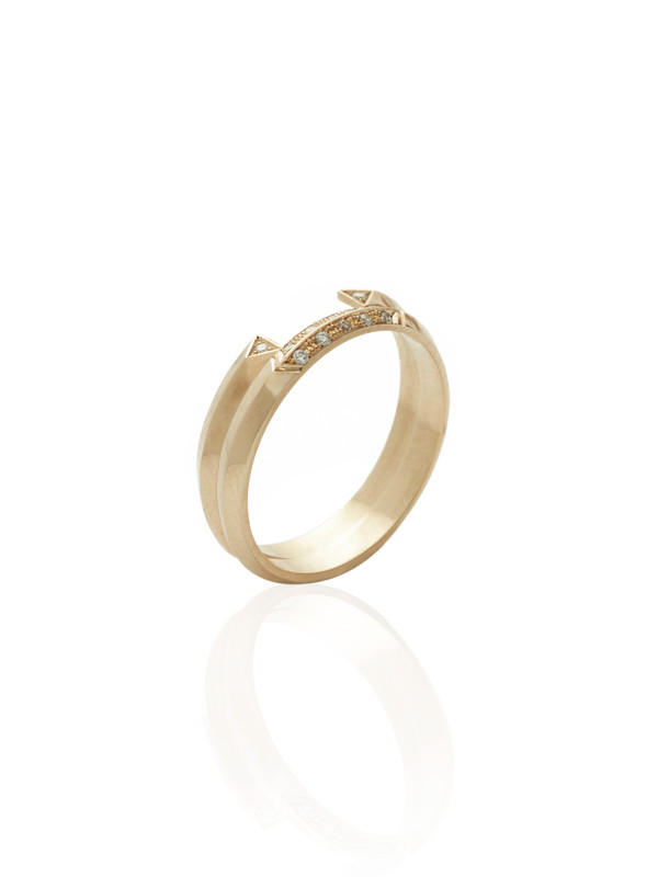 The ALWAYS ring shown here with the EMBRACE ring