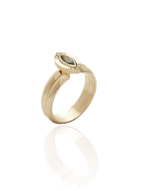 The HALO ring shown here with the GRACE ring