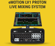 NEW! Waves eMotion LV1 Proton Live Mixing System