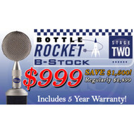 Blue Bottle Rocket Stage 2 Tube Microphone Just $999