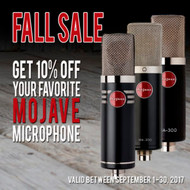 Mojave Audio Autumn Sale at Front End Audio