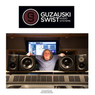 GUZAUSKI-SWIST Audio Systems – The performance of large, soffit-mounted mains in a mastering quality, flexible, mid-field design