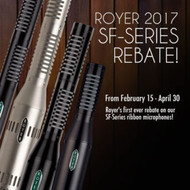 Royer Labs SF-Series Ribbon Microphone Rebates