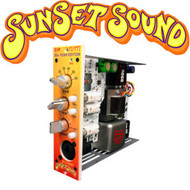 """With the The Sunset Sound S1P """"Tutti"""" – SUNSET SOUND delivers the world-famous tone of their custom Studio 1 Console to your 500-series rack"""
