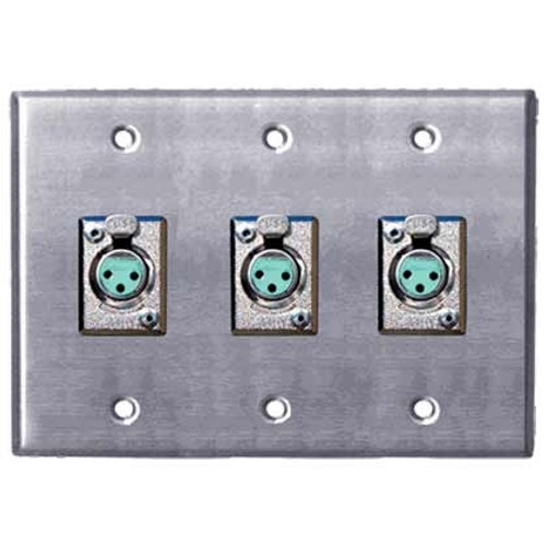 Horizon Female Wall Plate
