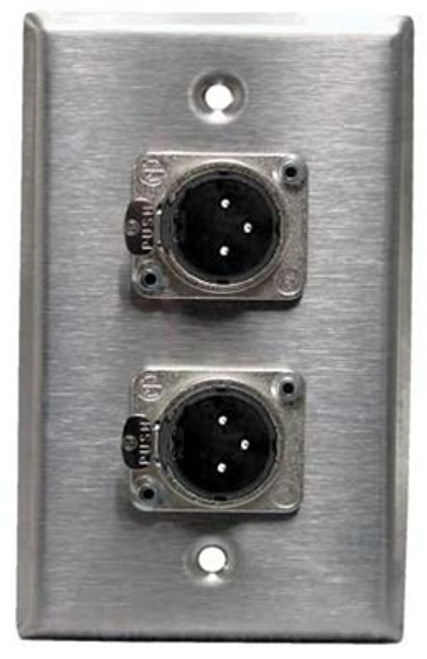 Horizon Male Wall Plate
