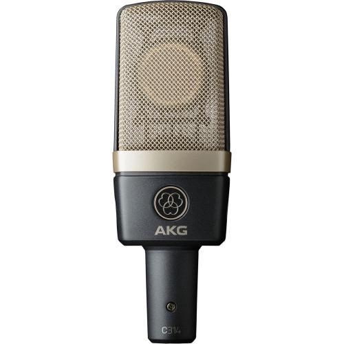 AKG Pro Audio C411//L Vibration Pickup for Stringed Instruments