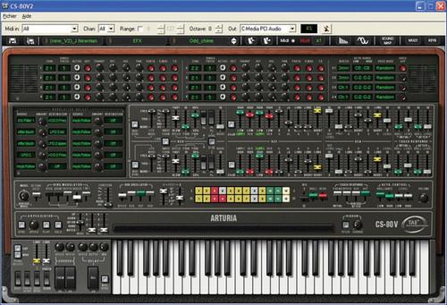 Arturia CS-80V 3 Synthesizer Software