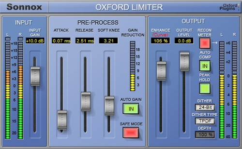 oxford limiter native