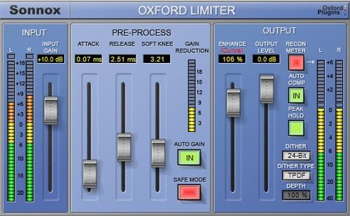 oxford limiter native