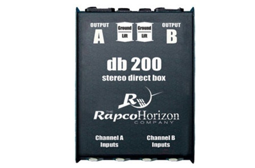 RapcoHorizon DB-2 Stereo Passive Direct Box