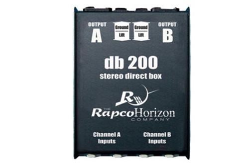 RapcoHorizon DB-2 Stereo Passive Direct Box
