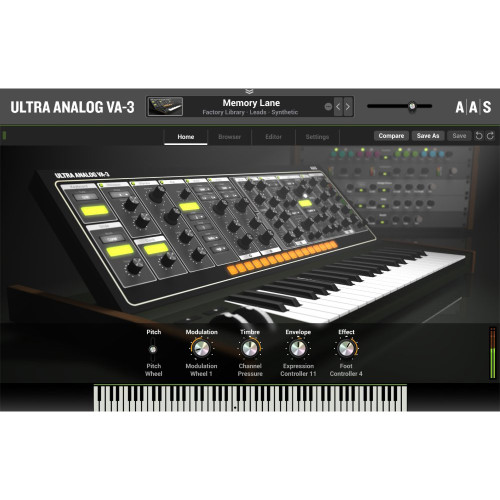 Applied Acoustics Ultra Analog VA-3