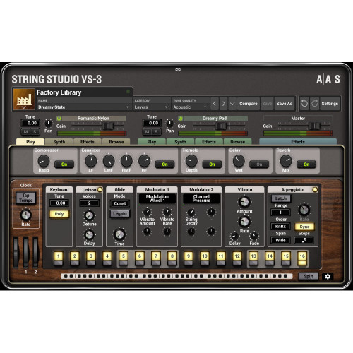 Applied Acoustics String Studio VS-3