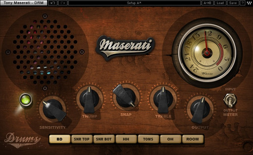 Waves Maserati DRM