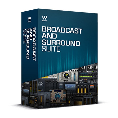 Waves Broadcast & Surround Suite