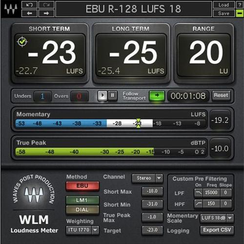 Waves WLM Plus