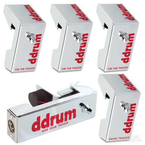 Ddrum Chrome Elite Trigger Pack