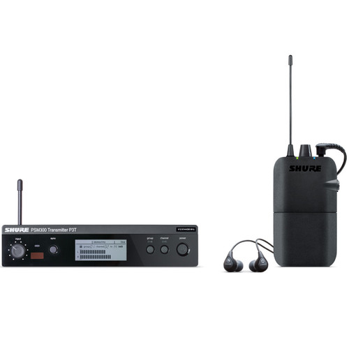 Shure P3TR112GR Wireless Monitoring System