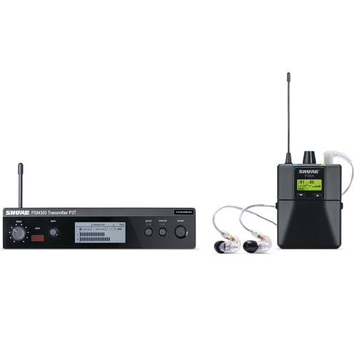 Shure P3TRA215CL Wired Monitoring System