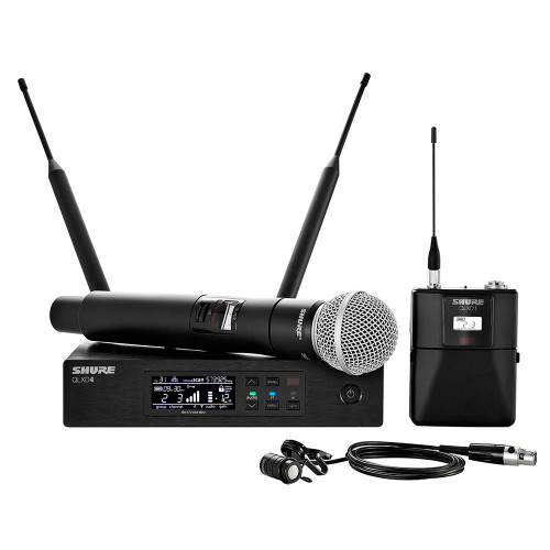 Shure QLXD124/85 Bodypack and Vocal Combo Wireless System