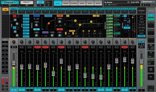 Waves eMotion LV1 Mixer