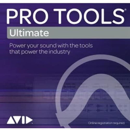 Avid Pro Tools Ultimate Software (Educational Annual Subscription)