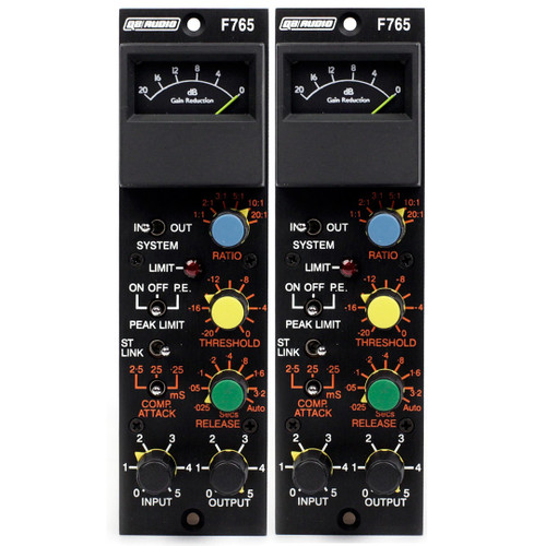 Q2 Audio Compex F765-SP 500-Series Compressors