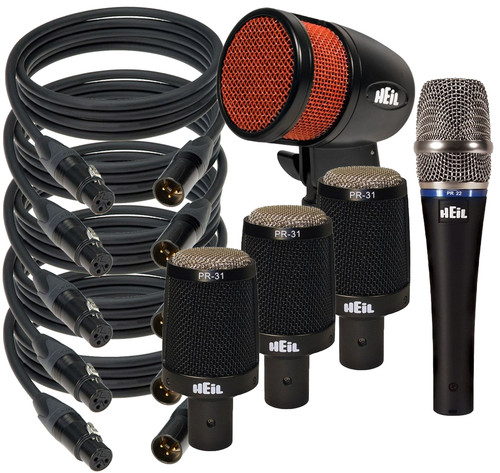 """Heil """"The Skins"""" Drum Microphone Bundle"""