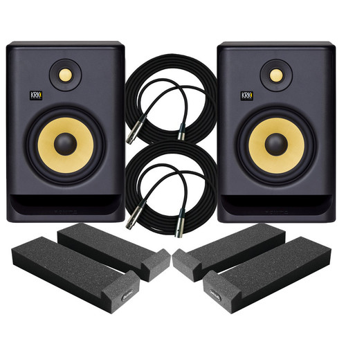 KRK RP7 Monitors Package