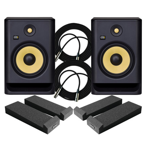 KRK RP8 Monitors Package
