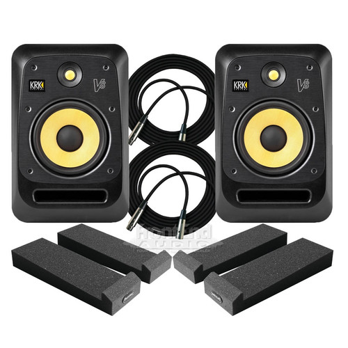 KRK V8S4 Monitors Package