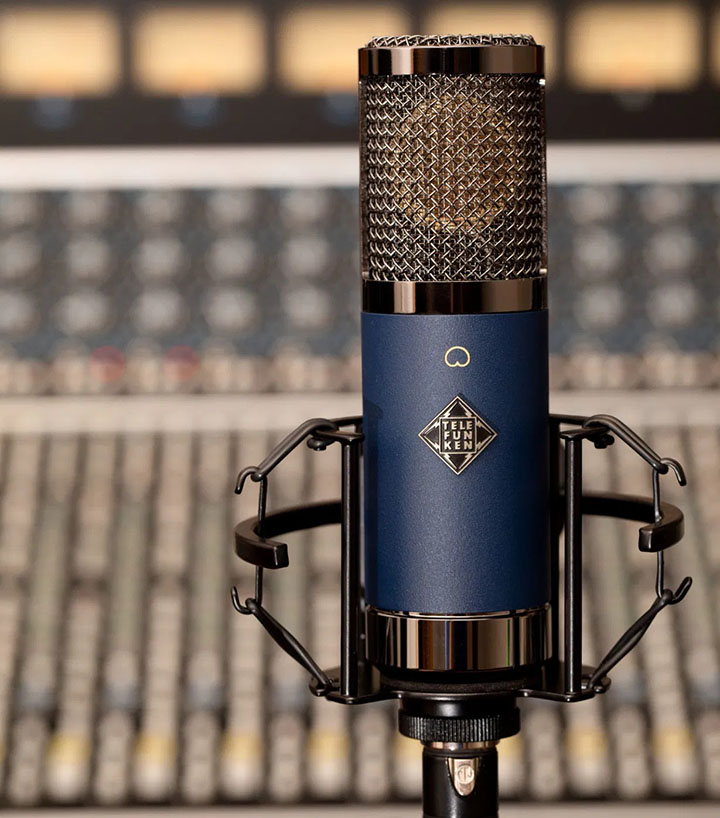 Telefunken Elektroakustik TF11 - Designed for the studio yet built for the stage!