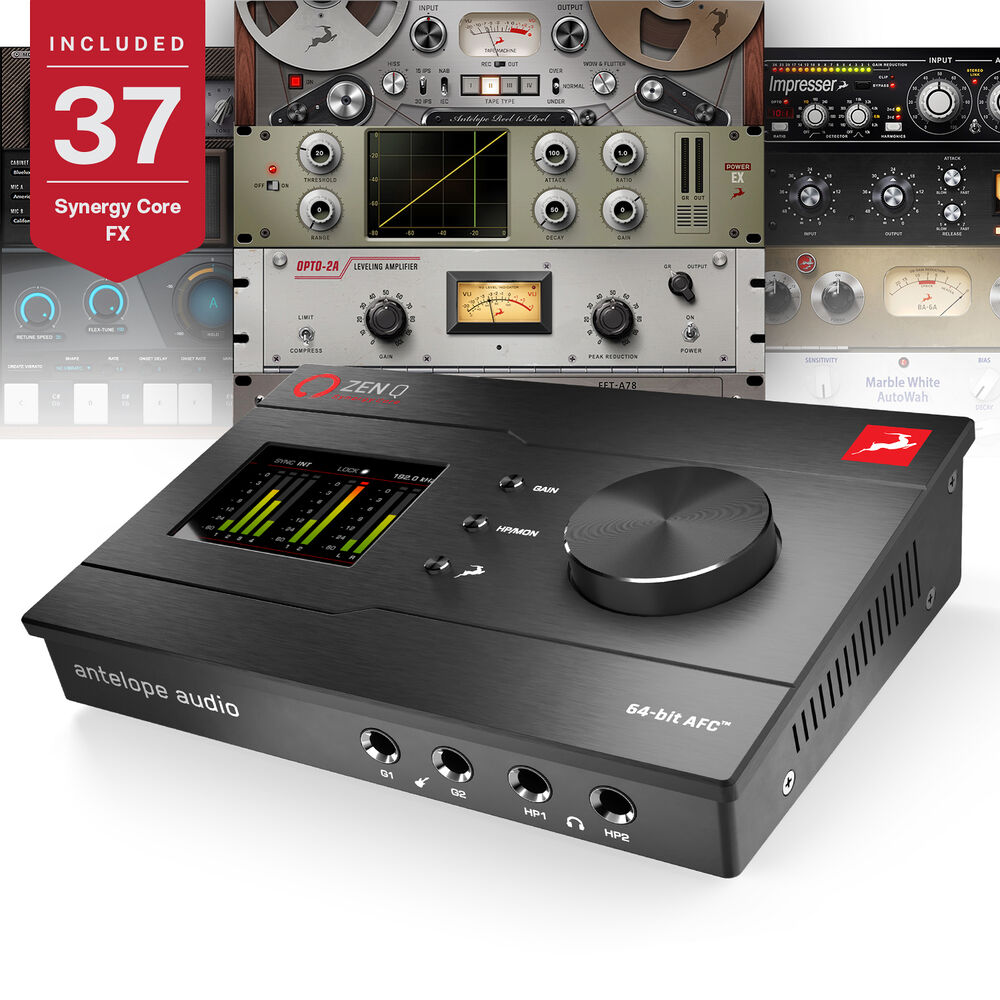 Antelope Zen Q Synergy Core Audio Interface